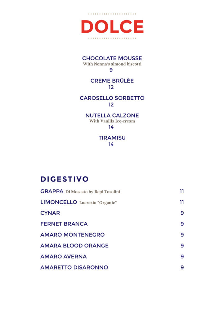 SoftCafe MenuPro v11 Menu
